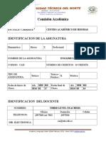 Syllabus Level 3 February 2013 March 2014