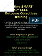 15. Writing Smart Outcome Objectives