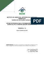 De-11 Método de Referencia Pararrosanilina Para SO2