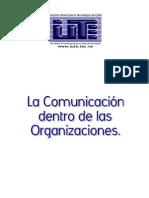 La Comunicacion Dentro de Las Organizaciones