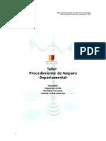 Manual Taller Procedimiento de Amparo