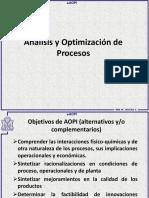 AOPI Unidad 1 Analisis de Procesos