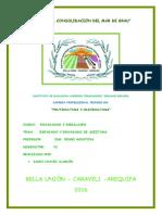 Empacado y Envasado de Aceituna Prof., Pedro JANDY CHAVEZ