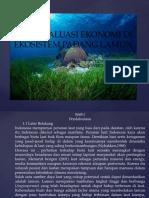 Valuasi Ekonomi Di Ekosistem Padang Lamun Power Point