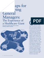 Roadmaps General Managers