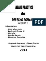 Derecho Romano i