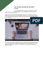 Tác Dụng Không Ngờ Tới Của Touch Bar Bỏ Qua Quảng Cáo Khi Xem YouTube Trên MacBook Pro Mới