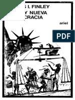 Finley Vieja y Nueva Democracia