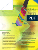 Guide to Vocational Training in English