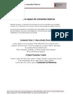 Guía AutoCAD Para Repaso Comandos Básicos