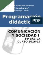Comunicación y Sociedad i Fp Básica