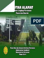 Buku Alamat Kantor Lingkup Pertanian Pusat Dan Daerah 2014
