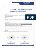 Fail Safe Open-Close Conversion (Espanol) - CD1107