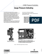 4195K Series Gauge Pressure Indicating Controllers
