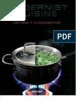 1 Modernist Cuisine Historia y Fundamentos