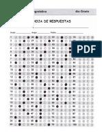 4to Grado - Diagnóstico (clave de respuestas).pdf