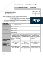 lesson plan - hardworking pdf