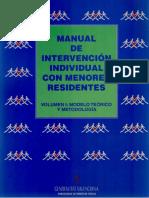Manual de Intervención Con Menores Residentes (Volumen I) (1)