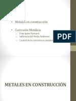 Corrosión de los metales