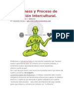 Mindfulness y Proceso Adaptacion Intercultural