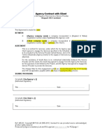 Agency Contract With Client v1
