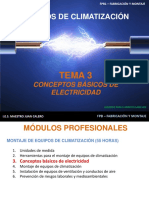 Tema 3 Conceptos Básicos de Electricidad