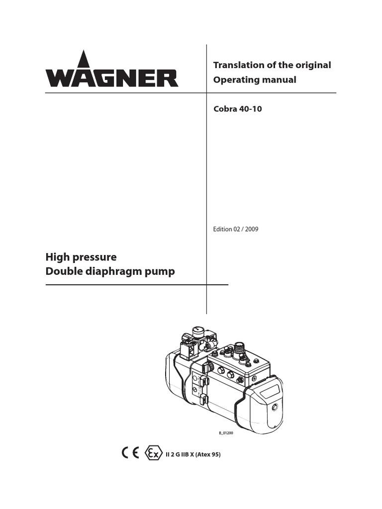 Operating manual high pressure pump valve pump ccuart Images