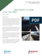 Refinery Flare Line Repair_Fibrwrap