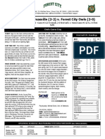 Forest City Owls game notes