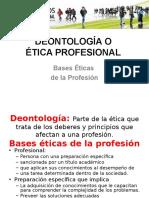 Deontología o Etica Profesional Hoy