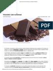 El Valor Nutricional Del Chocolate y Sus Nutrientes _ DMedicina