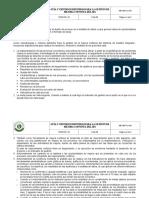 Me-me-pl-001 v2 Guía y Criterios Definidos Para La Gestión de Mejora Continua Del Sistema Integrado de Gestión