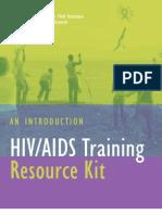 Peace Corps HIV Training Resource Kit       |       ICE#  t0136k Hiv Kit