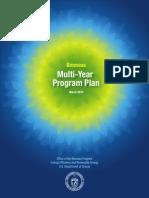 Biomass Multi-Year Program Plan