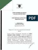 1378_Corte Suprema de Justicia Sala Penal-Rad-84957