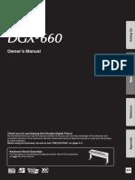 DGX 660 Manual