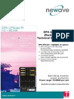 ABB Productattachments Files t e Technical Specification Dpa Upscaleri