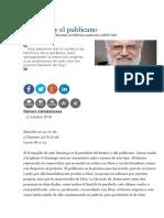 El Fariseo y El Publicano - Raniero Cantalamessa
