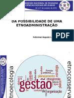 apresentação EtnoAdministração