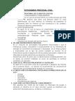 Cuestionario Derecho Procesal Civil