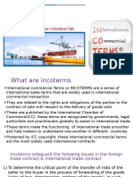 Incoterms by VAIBHAV