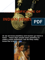 Significance of Jewelery