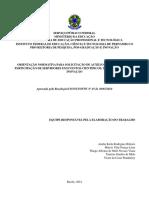 Orientação Normativa Para Solic Itação de Auxí Lio Para Participação Em Eventos Científicos