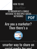 How to Use Buffer to Broadcast a Single Message to Multiple Social Networks - Kev Chavez - Your Keen & Crisp VP