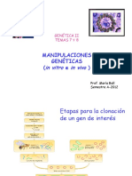 Tema 7-8 Manipulaciones Genéticas A2012 - Copia