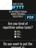 How to Use IFTTT to Automate Social Media Postings Selectively - Kev Chavez - Your Keen & Crisp VP