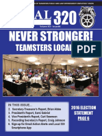 Teamsters Local 320 November 2016 Newsletter