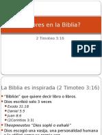 Supuestos errores en La Biblia