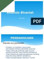 analisis Bivariat