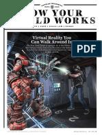 Virtual Reality You Can Walk In